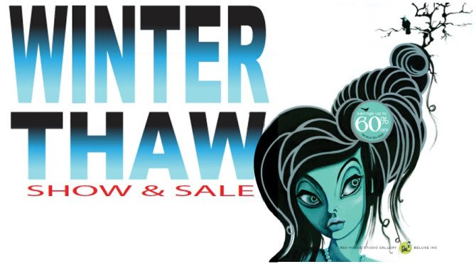 Winter Thaw art sale is Feb. 16, 17 and 18